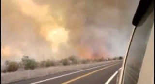 Arizona Fire Tornado With Expert Commentary