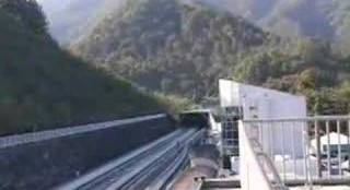 Japanese Maglev Train at 500km/h