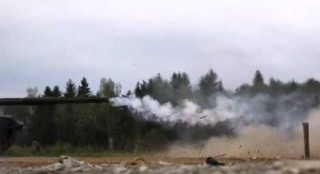 Tank Shooting At 18,000 fps