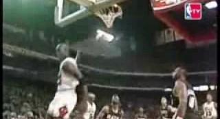 Classic Jordan Free Throw Dunks