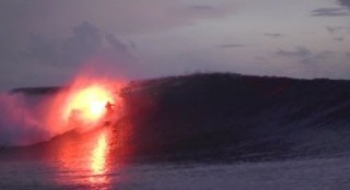 Surfing With a Flare